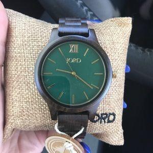 NWT Jord wood watch